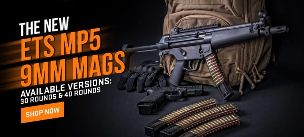 ETS Clear MP5 Mags
