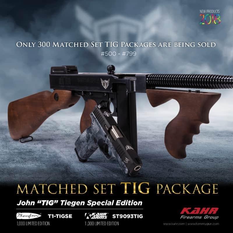 Kahr Firearms Limited Edition TIG Sets