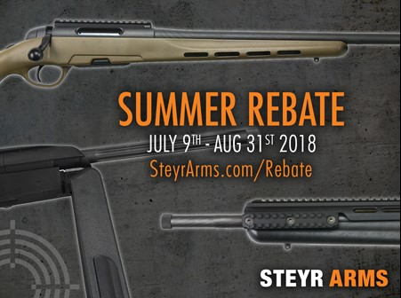 Steyr Arms Summer Sales Event
