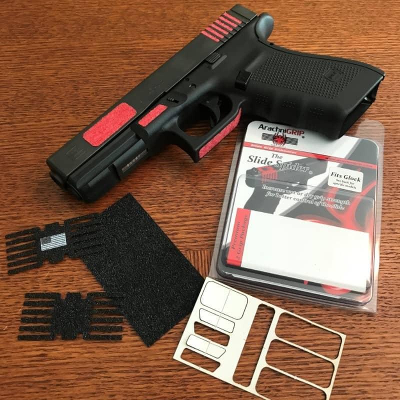 ArachniGRIP Gunfighter Series Adhesive Grip Sets