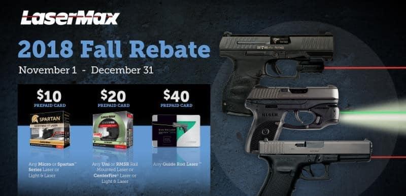 LaserMax Products Fall Rebate