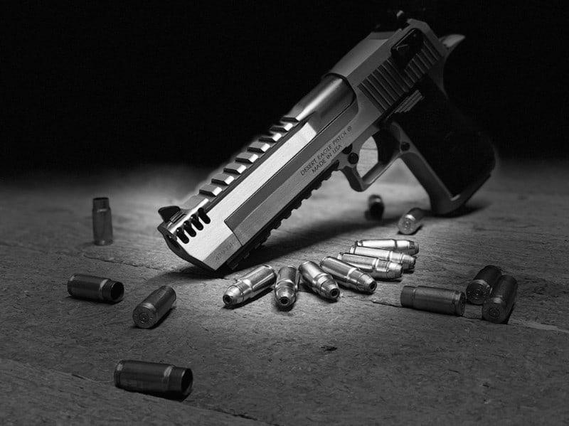 Magnum Research 429 DE Mark XIX Pistol and Pistol Accessories