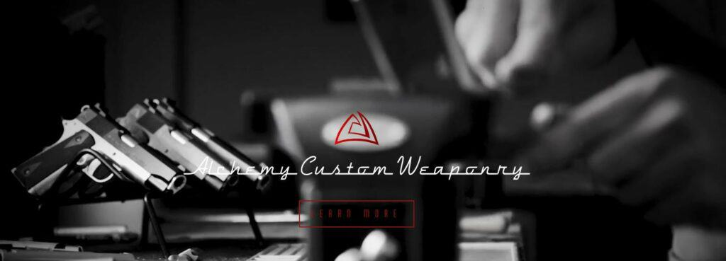 Alchemy Custom Weaponry Partners with Blue August