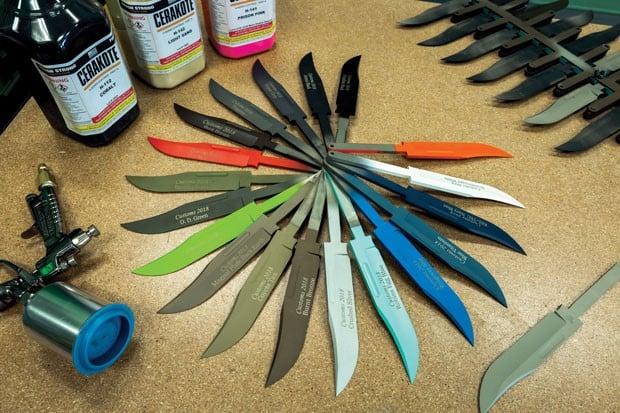 Buck Knives Cerakote