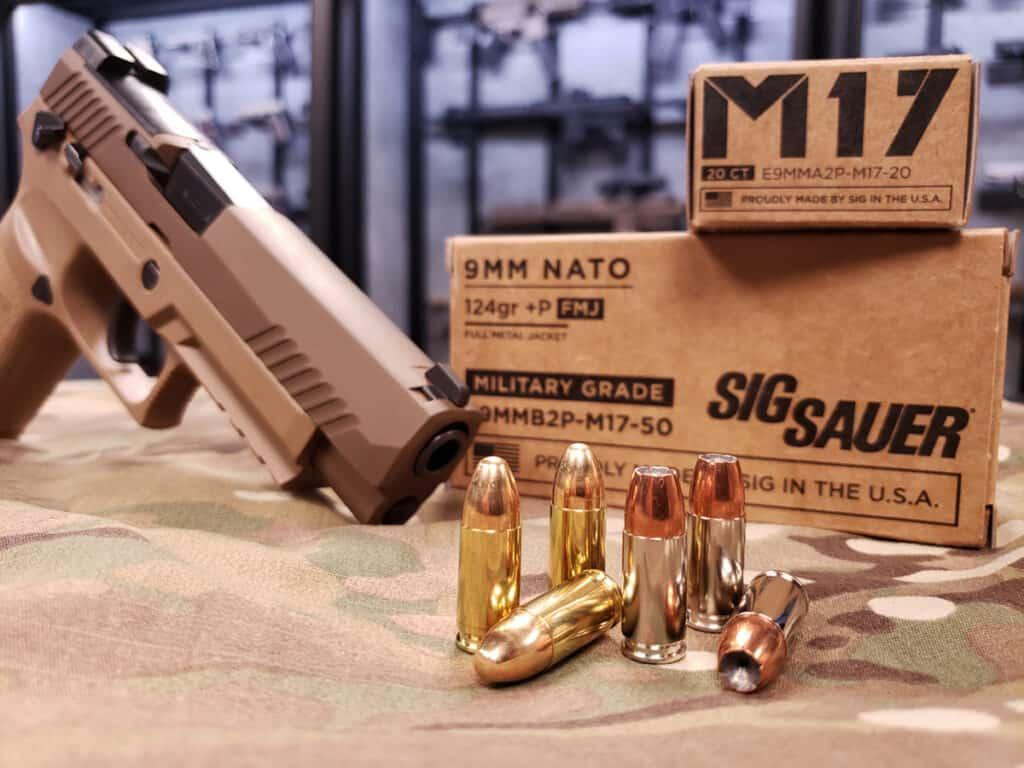 SIG M17 Ammunition