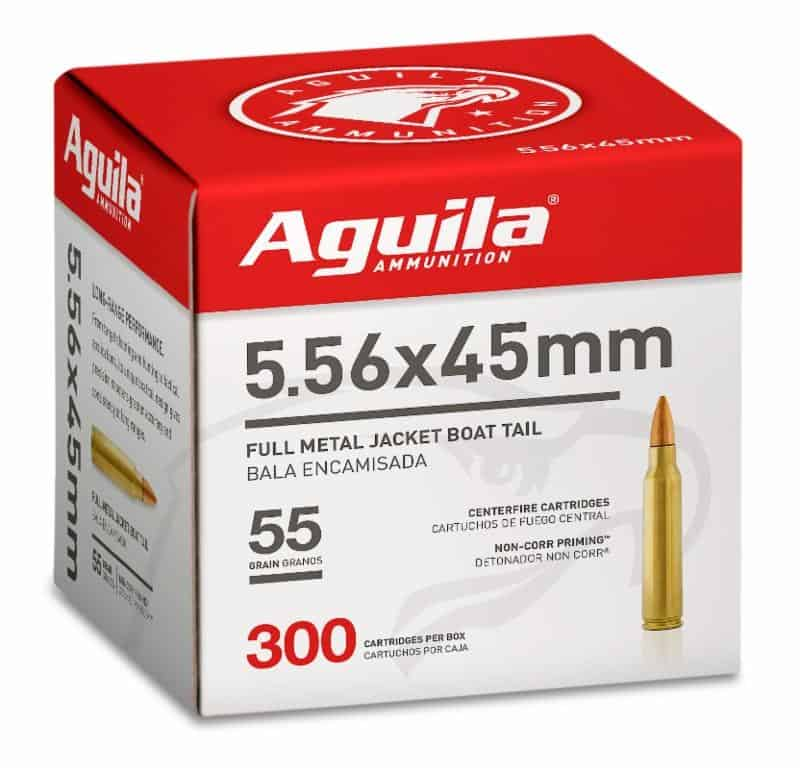Aguila Bulk 556 Rifle Ammunition