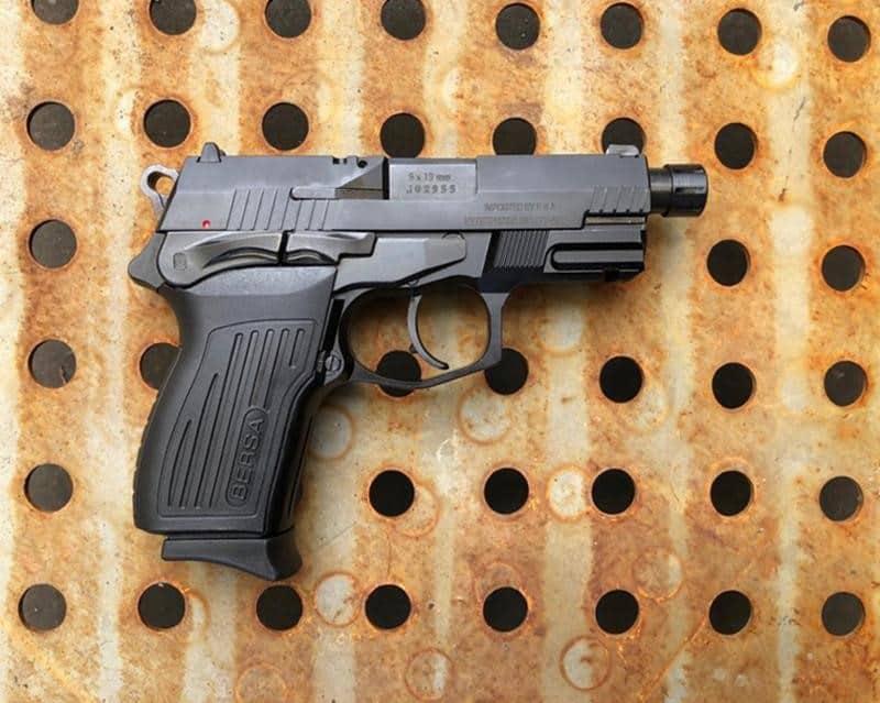 Suppressor-Ready Bersa Pistol