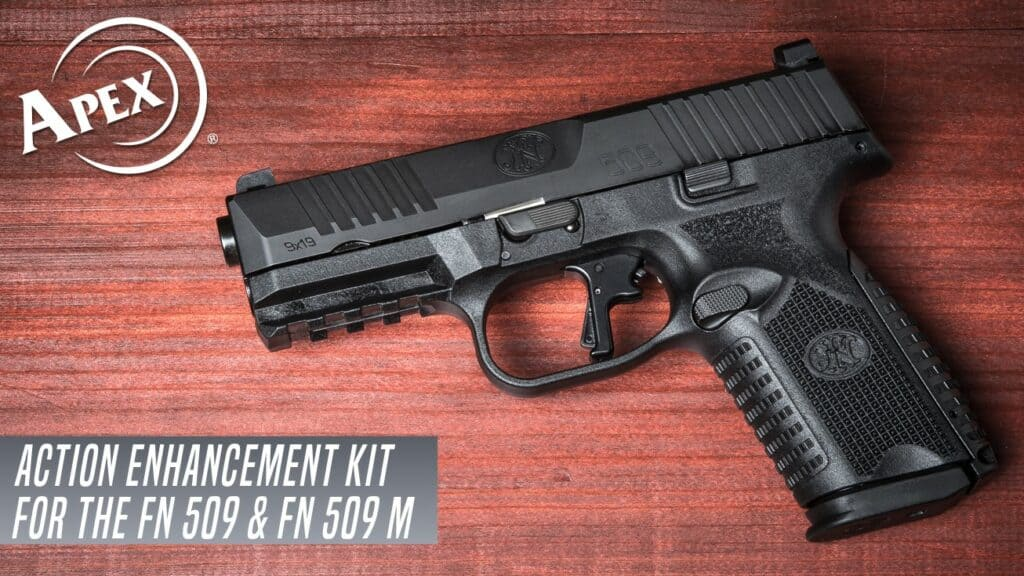 FN 509 Midsize with Trigger Upgrade by Apex