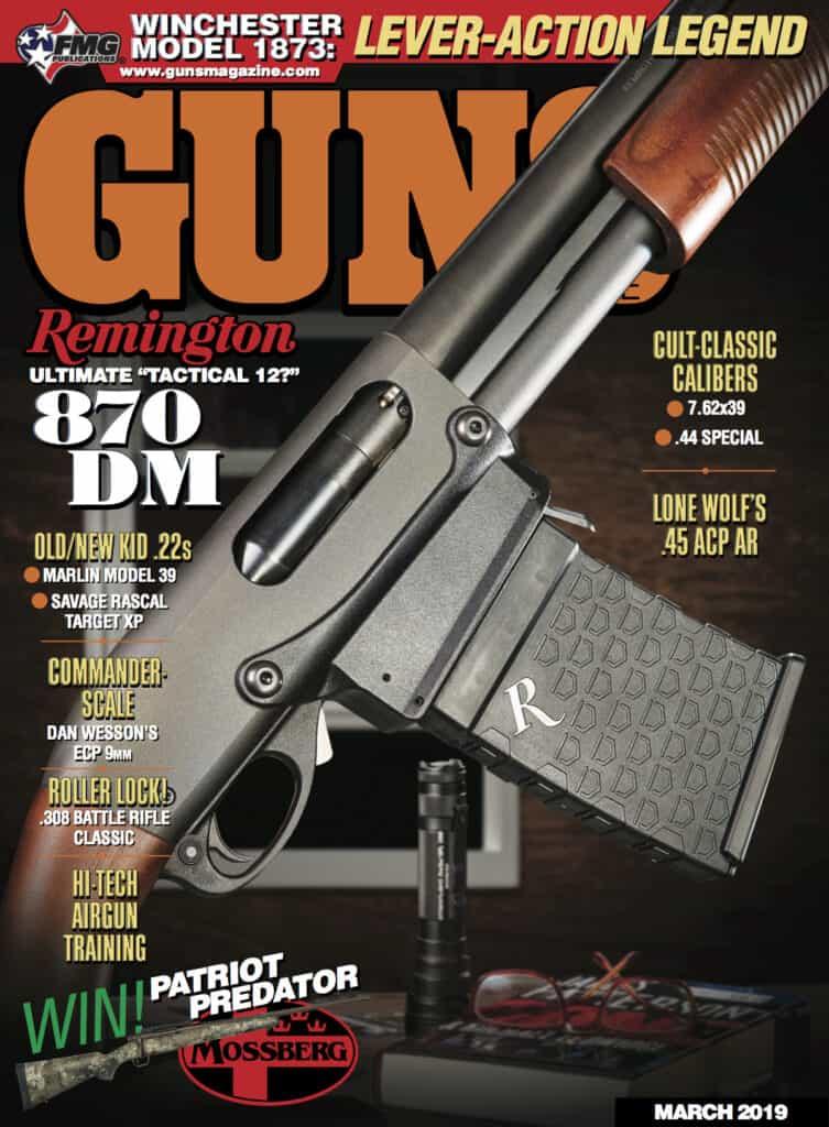 GUNS Magazine - Remington 870 Tactical DM