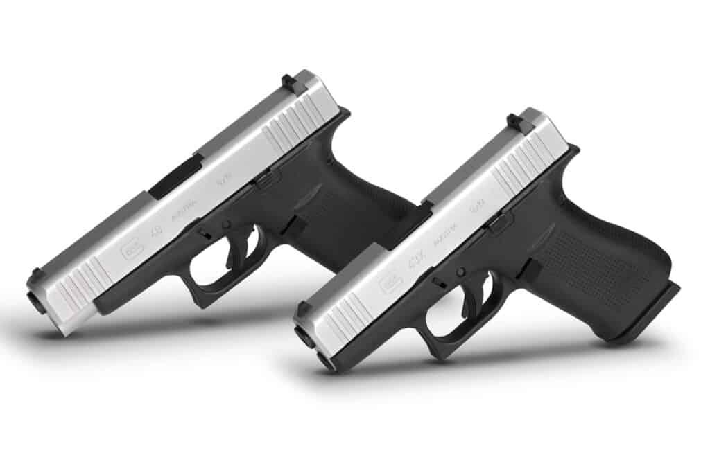 Glock Slimline Pistols - Glock 48 & Glock 43X