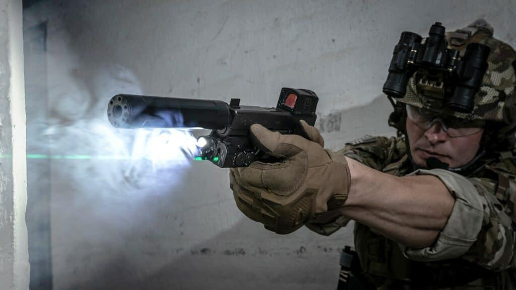 SureFire XVL2 WeaponLight and Laser
