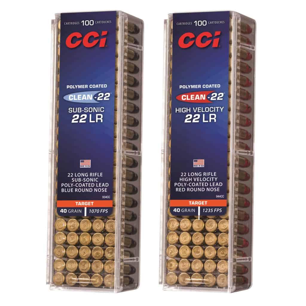 CCI Clean-22 Ammunition - 934CC