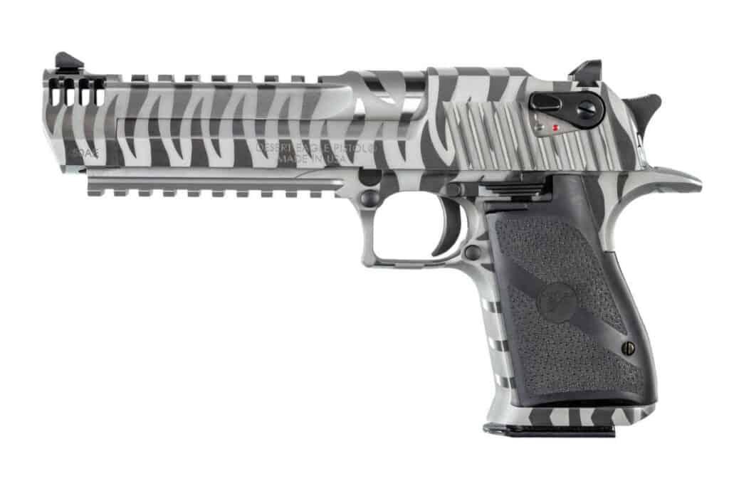 White Tiger Desert Eagle Pistol