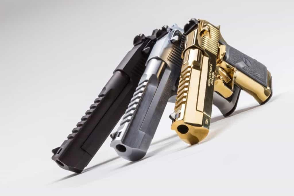 Desert Eagle Pistols