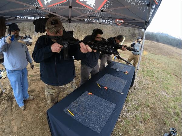 DoubleStar Rock Hard 3 Gun Match