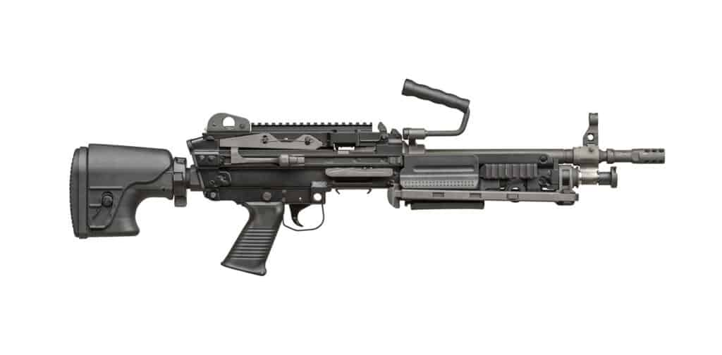 FN MINIMI 556 Light Machine Gun