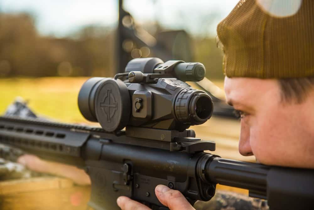 Sightmark Riflescope on Rifle