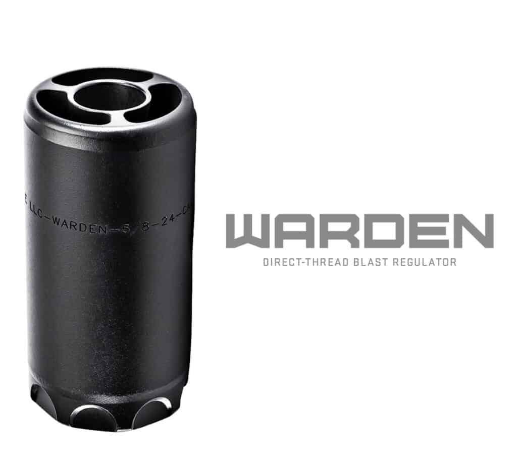 SureFire Warden Blast Regulator