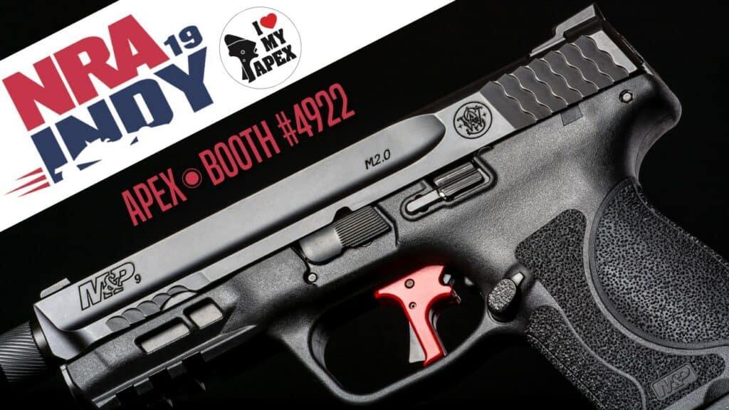 Apex Aftermarket Trigger Kits at 2019 NRA Show