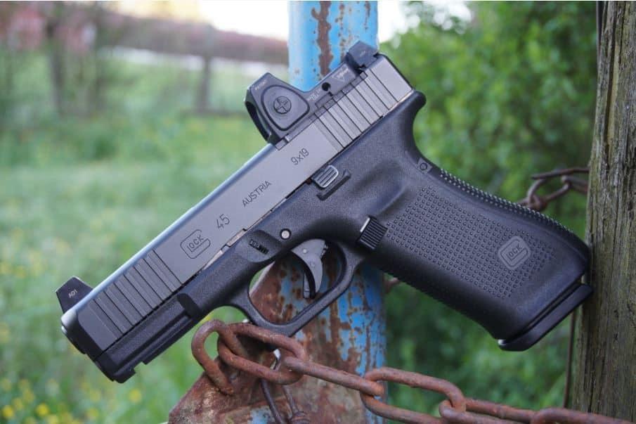 Glock G45 MOS - Modular Optic System