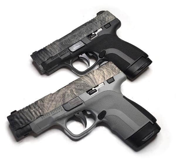 Honor Defense Mossy Oak Pistols
