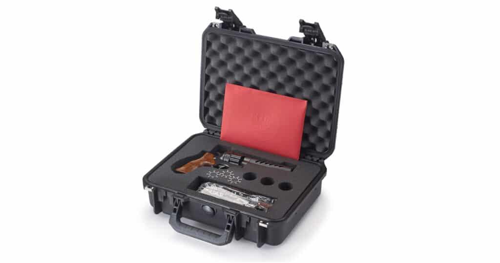 Ruger Custom Shop Super GP100 Competition Revolver in Hard Case