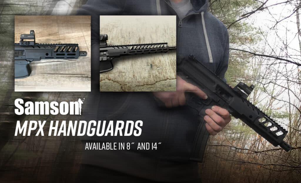Samson M-LOK Handguards for SIG SAUER MPX Pistols & Carbines