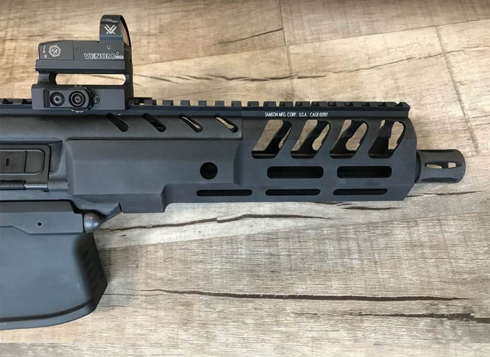 Samson M-LOK Handguards for SIG SAUER MPX Pistols and Carbines