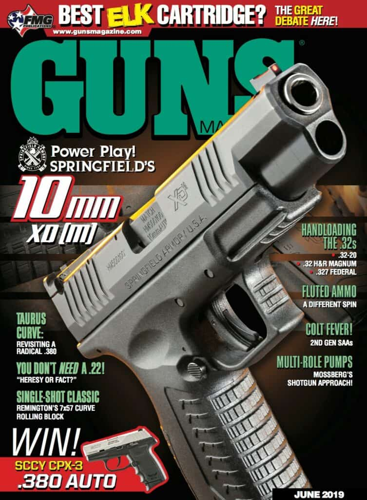 Springfield Armory XDM 10mm Featured In June GUNS