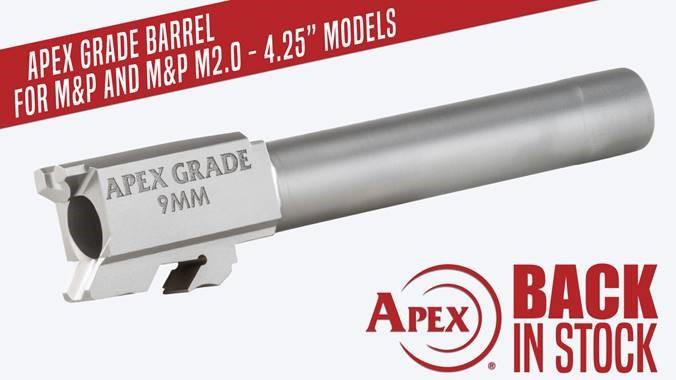 Apex Grade Barrel Back in Stock
