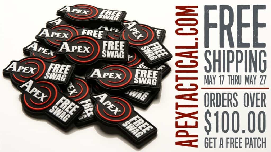 Apex Tactical Free Shipping