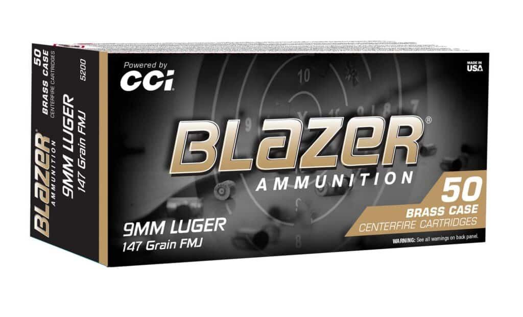 Blazer 9mm Luger