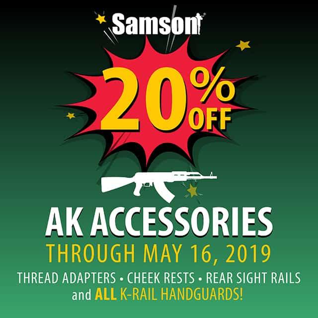 Samson K-Rail Discount