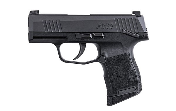Sig Sauer P365 with Manual Safety