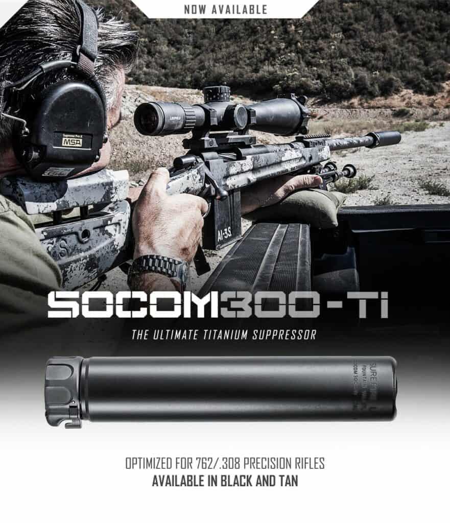 SureFire SOCOM300 Supressor