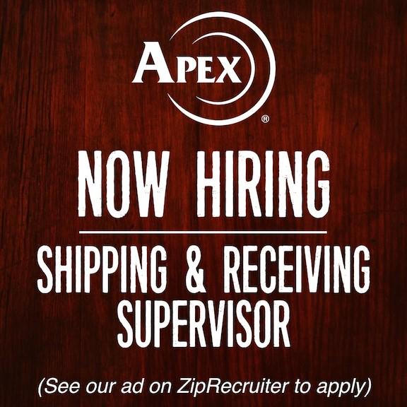 Apex Tactical Specialties Now Hiring