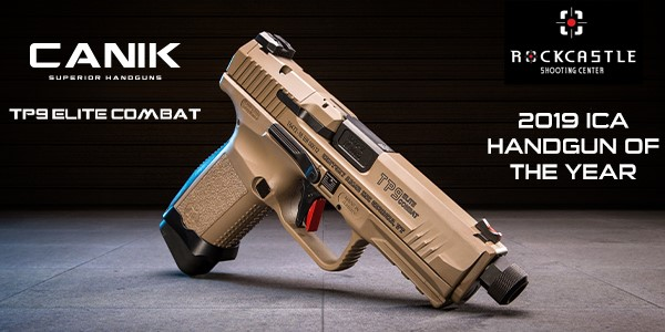 Canik TP9 Elite Combat Handgun of the Year