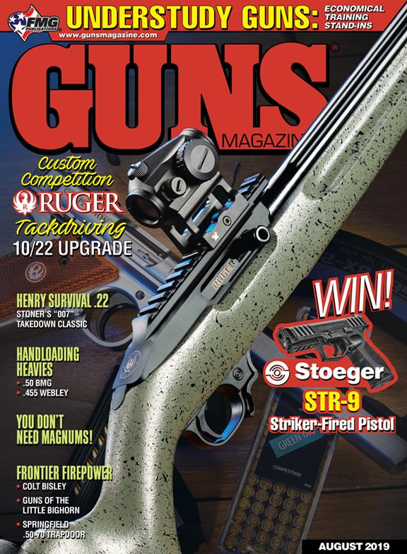 GUNS Magazine August