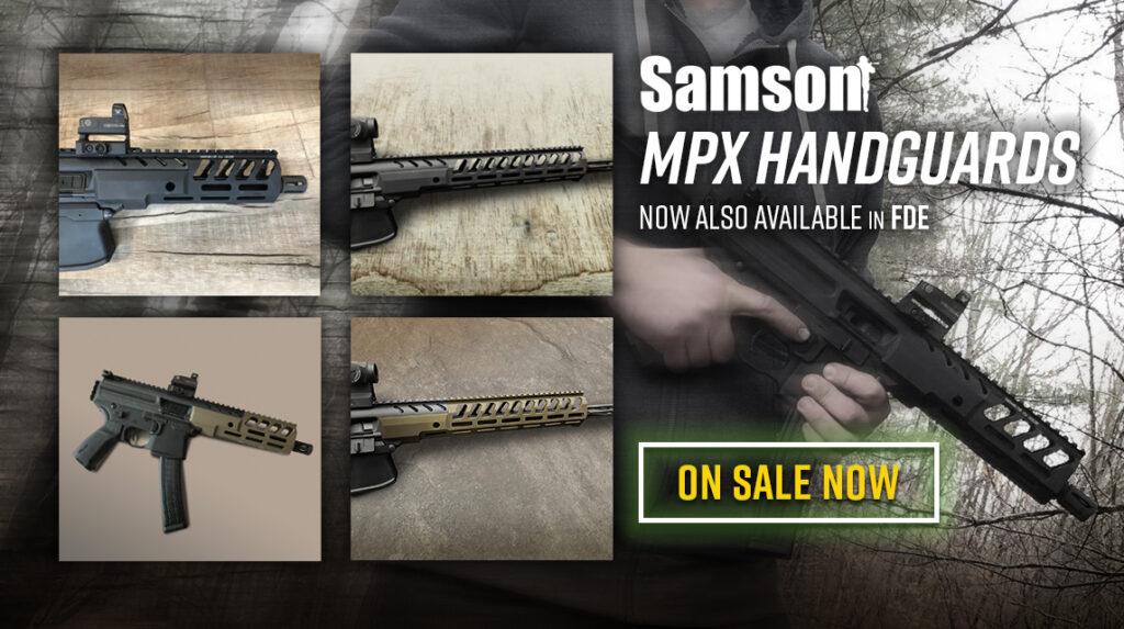 Samson MPX Handguards
