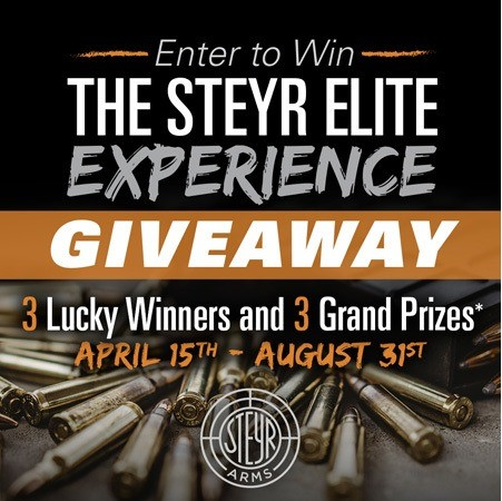 Steyr Elite Experience Giveaway