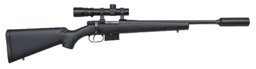 CZ 527 American Synthetic Suppressor-Ready Rifle - With Suppressor