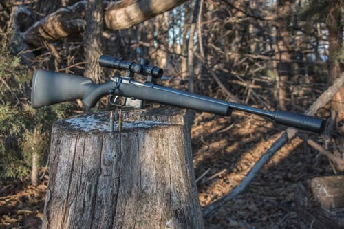 CZ 527 American Synthetic Suppressor-Ready Rifle