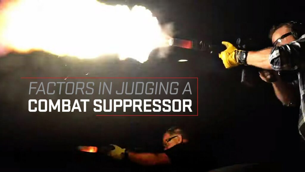 SureFire Factors in a Suppressor