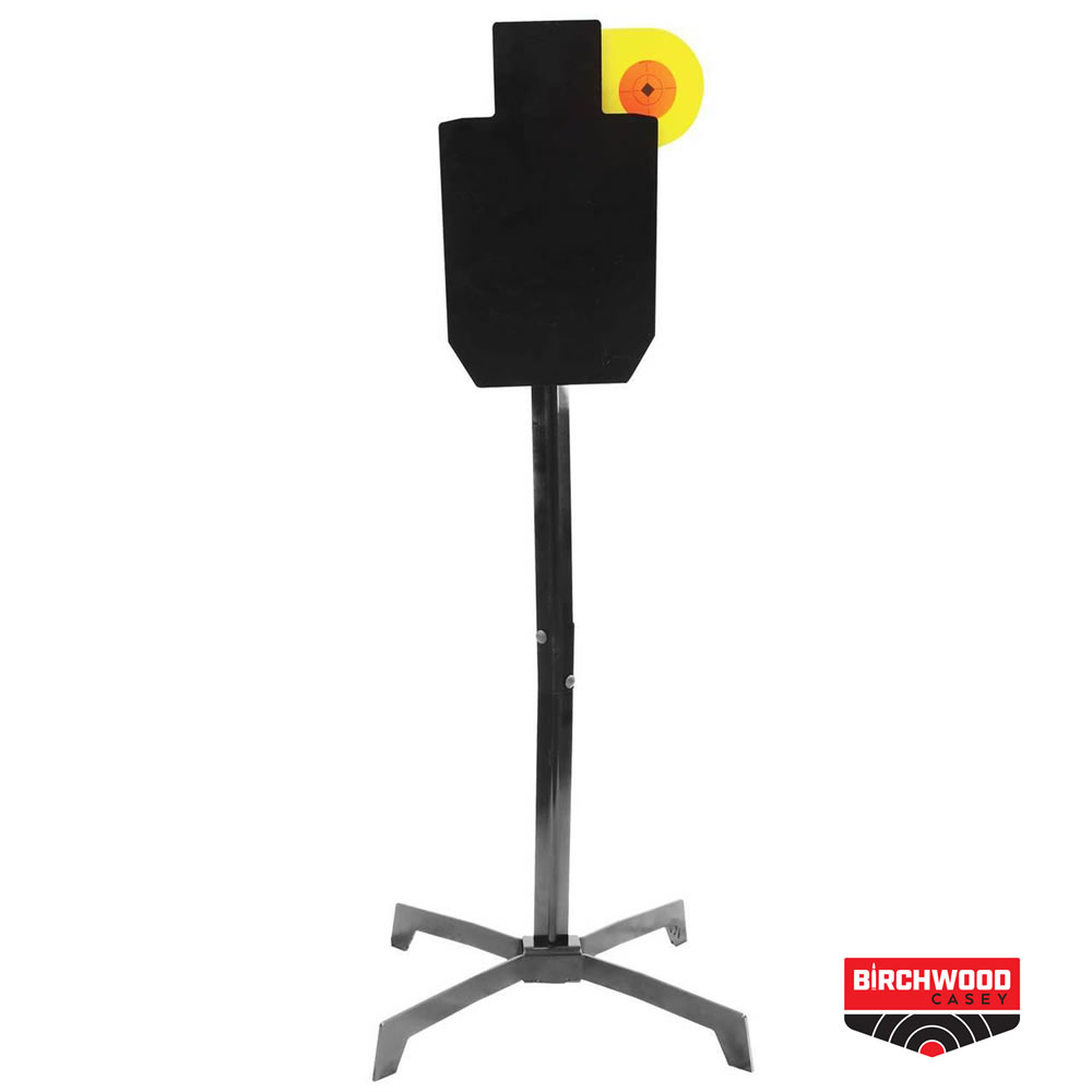 Birchwood Casey World of Targets Hostage Silhouette with Paddle Target