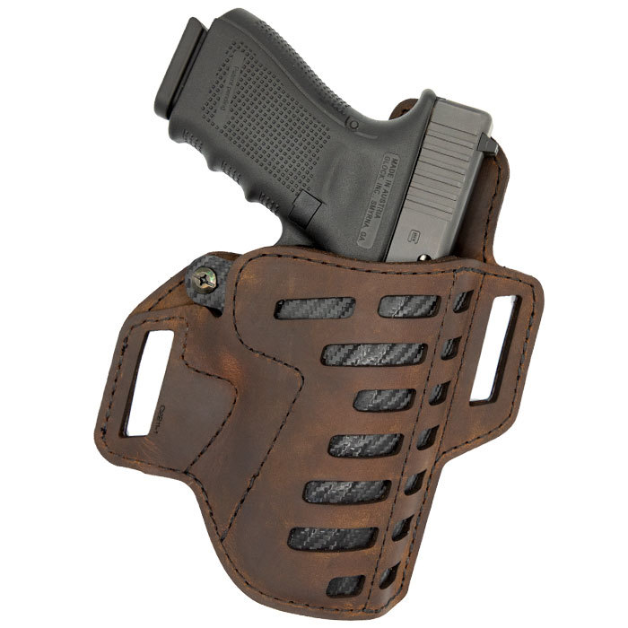 Compound Series Holster - OWB -Leather-Kydex Hybrid