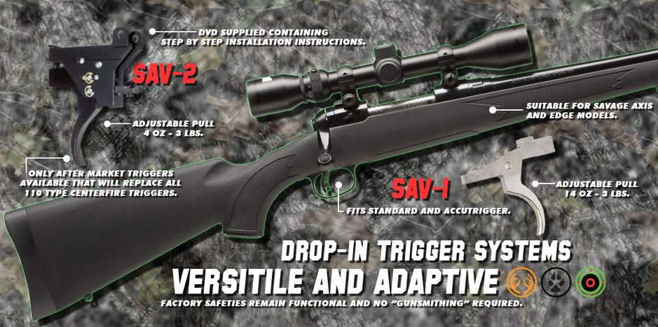 Rifle Basix Aftermarket Drop-in Rifle Triggers