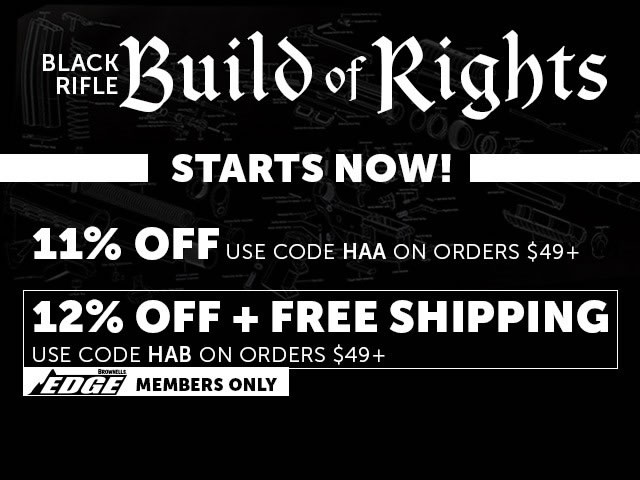 Brownells Black Rifle Friday Deals