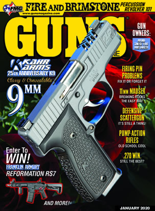 Kahr Arms 25th Anniversary K9 Featured in GUNS
