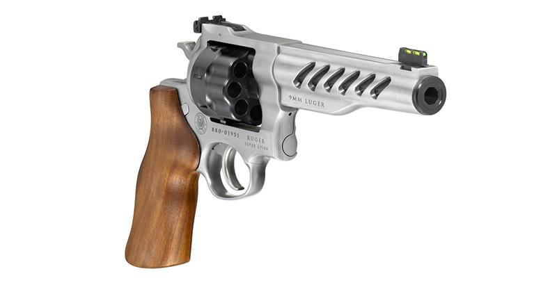 Ruger Custom Shop Super GP100 Competition Revolver 9mm