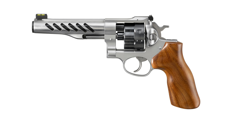 Ruger Custom Shop Super GP100 Competition Revolver Chambered in 9mm
